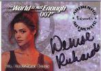 Denise Richards Autogramm-Karte (James Bond)