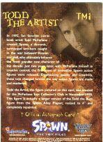 Todd McFarlane Autogramm-Karte (Spawn)