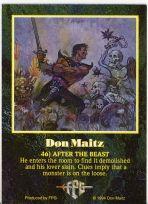 Don Maitz Autogramm-Karte (D.M.Fantasy)
