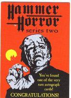 ??? Autogramm-Karte (Hammer Horror)