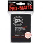 UP Kartenhüllen / Sleeves - Pro Matte Schwarz / Black (50)