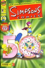 Simpsons Comics # 050 (mit PEZ Spender Lisa)