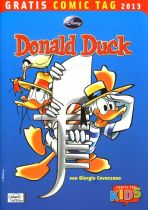 2013 Gratis Comic Tag - Donald Duck