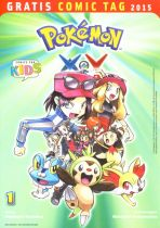 2015 Gratis Comic Tag - Pokemon