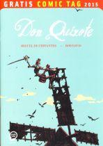 2015 Gratis Comic Tag - Don Quixote
