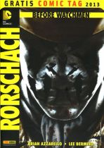 2013 Gratis Comic Tag - Before Watchmen Rorschach