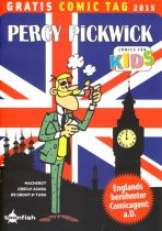 2015 Gratis Comic Tag - Percy Pickwick