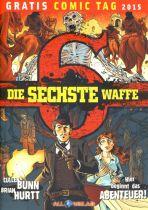 2015 Gratis Comic Tag - sechste Waffe