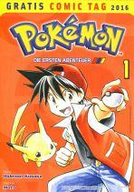 2016 Gratis Comic Tag - Pokemon 1