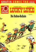 2016 Gratis Comic Tag - Lucky Luke