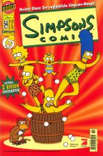 Simpsons Comics # 054 (mit 2 Riesen Postkarten)