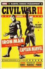 Civil War II # 02 (von 9) Variant-Cover