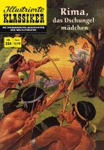 Illustrierte Klassiker Nr. 234 - Rima, das Dschungelmädchen