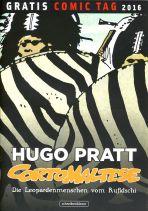 2016 Gratis Comic Tag - Corto Maltese