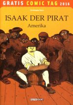 2016 Gratis Comic Tag - Isaak der Pirat
