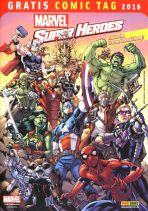 2016 Gratis Comic Tag - Marvel Super Heroes
