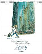 Über Unterwegs: Ein Jahreskalender von Barbara Yelin