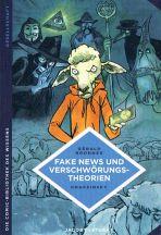 Comic-Bibliothek des Wissens: Fake News und Verschwörungstheorien