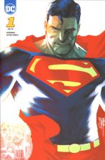 Superman - Action Comics (Serie ab 2019) # 01 - Unsichtbare Mafia - Variant-Cover