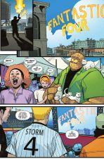 Fantastic Four (Serie ab 2019) # 01 - Die Rückkehr - Variant-Cover Die Fackel