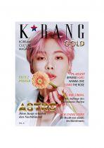 K*bang GOLD # 06 mit K-Pop B4DGES Logo Pins Set 1