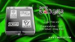 K*bang GOLD # 08 mit K-Pop B4DGES Logo Pins Set 3