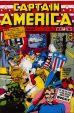 Captain America Comics # 01 von 1941 Reprint Gold Logo