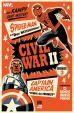 Civil War II # 04 (von 9) Variant-Cover